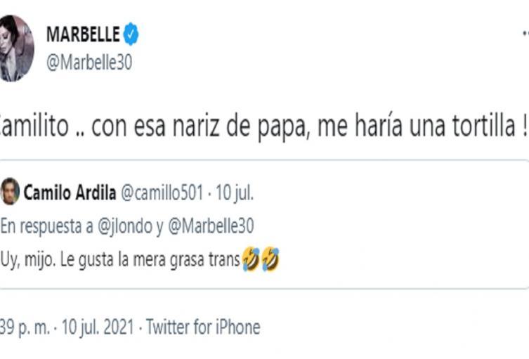Twitter Marbelle