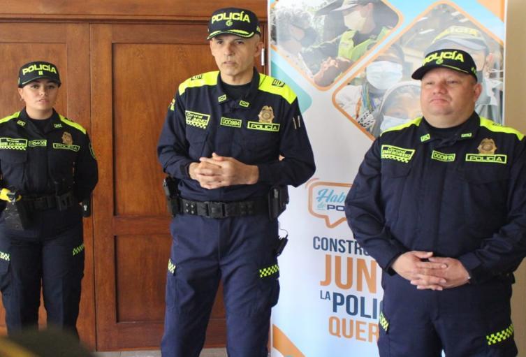 La Policía dio a conocer en Ibagué su nuevo uniforme y la campaña que busca acercarse más a la comunidad