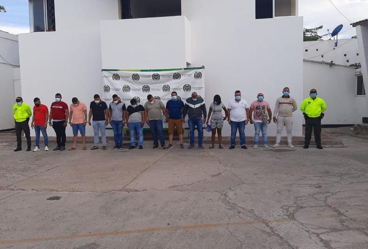 Adscritos a la estación de Policía Riohacha