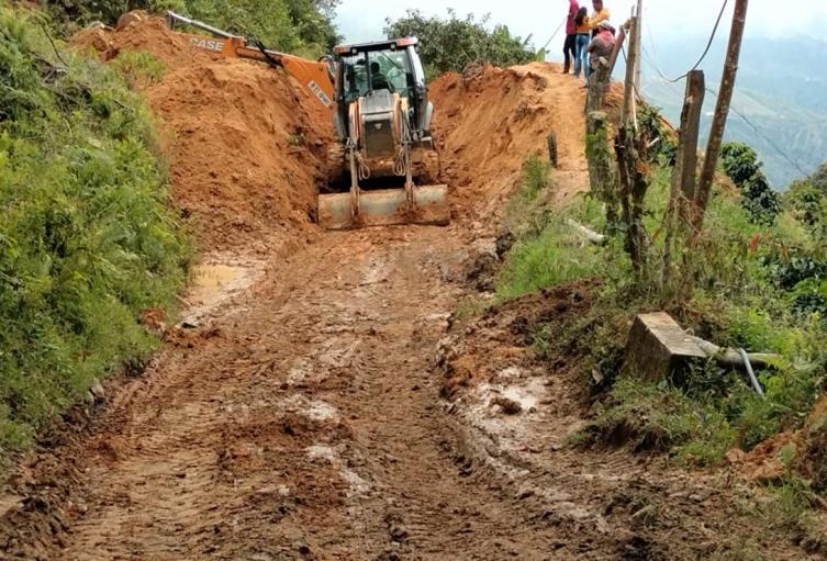 Apoyo en China Alta zona rural de Ibagué