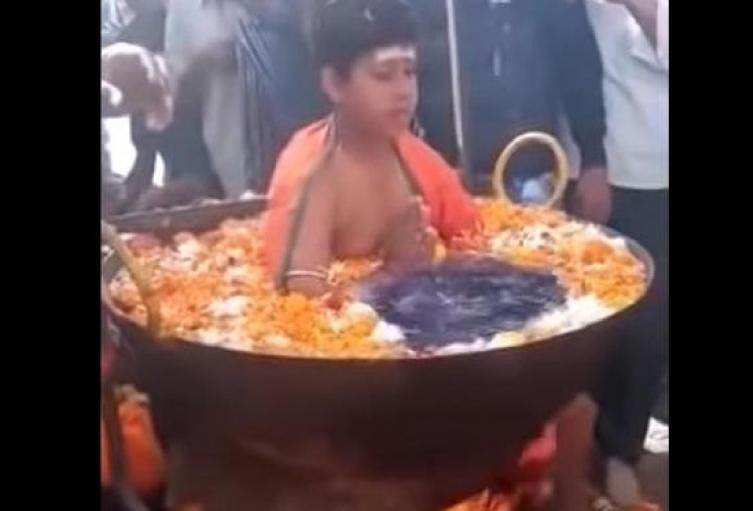 Niño de la India