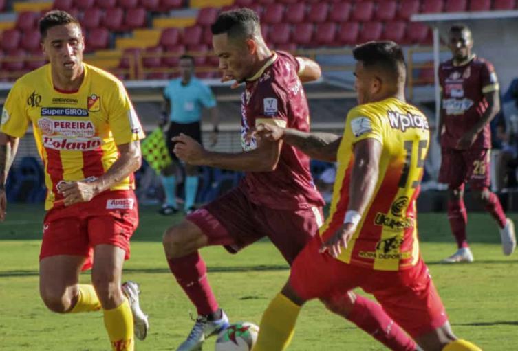 Tolima 0 Pereira 0