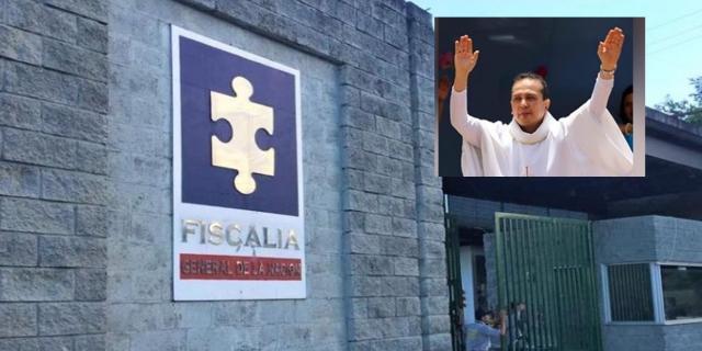 Pasó su primera noche en el Búnker de la Fiscalía el padre Fredy Martínez