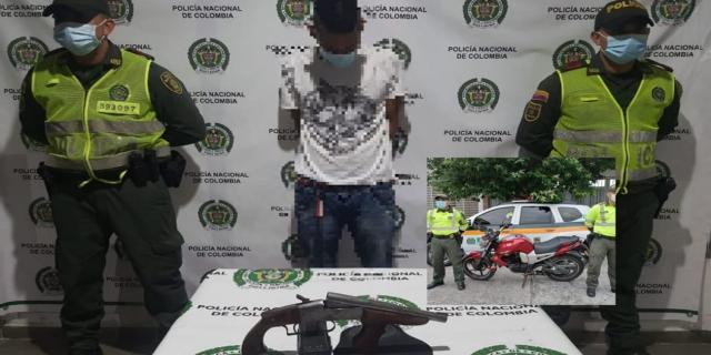En cinematográfico operativo cayó alias 'care cartón', peligroso delincuente del Guamo