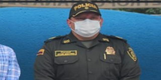Se va el coronel Jovani Benavides, comandante de la Policía Metropolitana de Ibagué