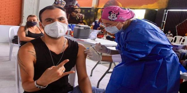 Vacunación mayores de 30 años en Ibagué agosto