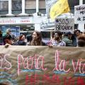 Protestas medio ambiente / natutaleza / min ambiente / protestas /agua /rios
