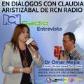 Dr. Omar Mejía invitado en Diálogos con Claudia Aristizábal