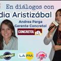 Andrea Parga, Gerente de Concretol.
