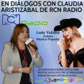 Lady Yuliana invitada en Diálogos con Claudia Aristizábal