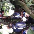 Ciclista se accidentó entre Boquerón y Coello