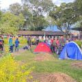 Minga Indígena pasó la noche en Ibagué