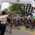 Salida tercera etapa de La Vuelta al Tolima