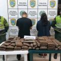 Cayó gigantesco alijo con 50 kilos de marihuana en la vía Ibagué – Espinal