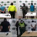 Capturaron varios sujetos armados en algunos municipios del Tolima
