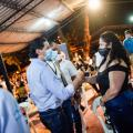 Visita Alcalde Hurtado comuna 11