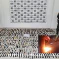 Fundieron en horno 456 armas blancas incautadas en Chicoral y El Espinal
