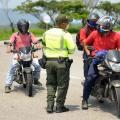 Operativos Policía Metropolitana a motos en Ibagué 2021