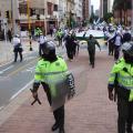 Mas de 400 policías prestarán seguridad durante la jornada de protesta en Ibagué