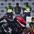 Capturaron sujeto que robó moto anoche de la Honda en la 39 con Quinta