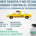 vacunación taxistas de Ibagué 2021