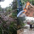 Afectaciones por lluvias en Ibagué