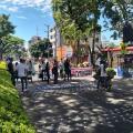 bloqueo en la carrera Quinta en Ibagué 18 de junio