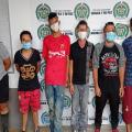 Operativo de desalojo en lote de la Ciudadela Bolívar en Ibagué dejó 6 capturados