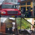 Bomberos atendieron dos incendios estructurales en la capital tolimense