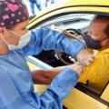 vacunación en vehículo Ibagué