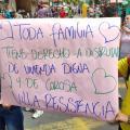Protestaron invasores de Villa Resistencia, predio de la Bolívar y La Samaria