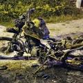Le quemaron una moto a la Policía en Villas de Gualará