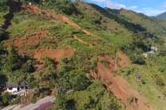 Deslizamientos en Antioquia