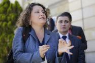 Senadora Angélica Lozano