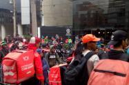 Protesta Rappi
