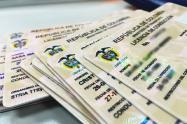 Licencias de conducción en Colombia
