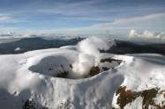 Sismos en el Nevado del Ruíz