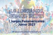 En Cali y otros municipios del Valle se realizarán los Juegos Panamericanos Junior.
