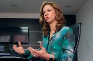 María Claudia Lacouture, directora ejecutiva de la Cámara de Comercio Colombo Americana (AmCham)