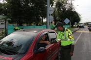 Policía de tránsito Ibagué.