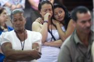 Familiares de víctimas del conflicto colombiano.