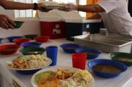 Los contralores estudiantiles denunciaron algunas irregularidades que se estarían presentando en la entrega de los alimentos