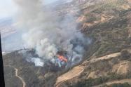 En estos momentos siete incendios en el Tolima consumen 2.450 hectáreas