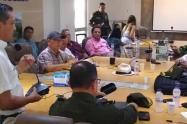 Autoridades desarrollaron Consejo de Seguridad en El Espinal