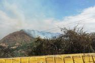 En el municipio de Alvarado las emergencia ya ha consumido más de 1500 hectáreas