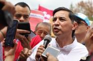 Andrés Hurtado, denunció al interior del IBAL cartel del agua producto de la politiquería
