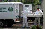 Investigan homicidio