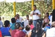 El candidato Conservador recorrió varios municipio del Tolima