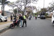 La policía registra constantemente las calles de Ibagué