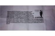 El documento esta firmado por las FARC-EP, supuestamente.